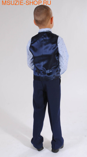 жилет+брюки+сорочка+бабочка (фото, вид 1)