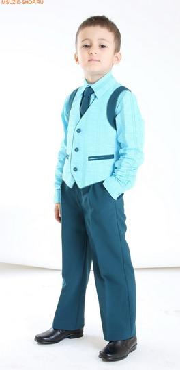 Жилет, брюки, рубашка, галстук (фото, вид 2)