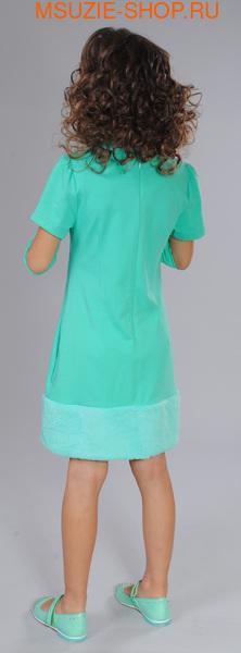 платье+съемный воротник+митенки (фото, вид 1)