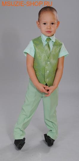 рубашка+брюки+жилет+галстук (фото)