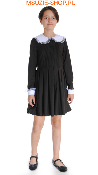 платье+воротник,манжеты (фото)