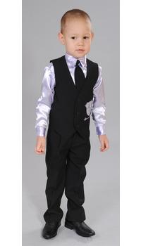 жилет+сорочка+брюки+галстук
