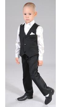 жилет+брюки+сорочка