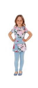 блузка+юбка-лосины