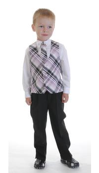 жилет,галстук