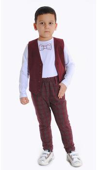 жилет+брюки+джемпер