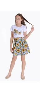 футболка+юбка