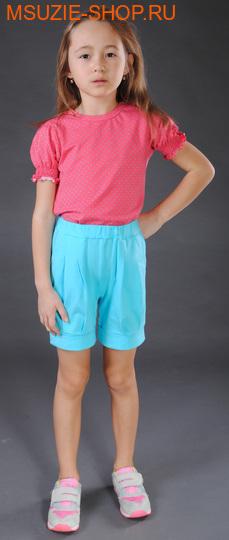 Милашка Сьюзи шорты. 104 голубой рост