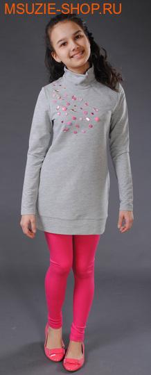 Милашка Сьюзи туника. 146 серый рост