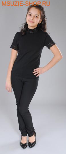 Милашка Сьюзи блузка. 122 черный рост