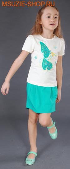 Милашка Сьюзи юбка. 110 зеленый ростБрюки, юбки  <br><br>