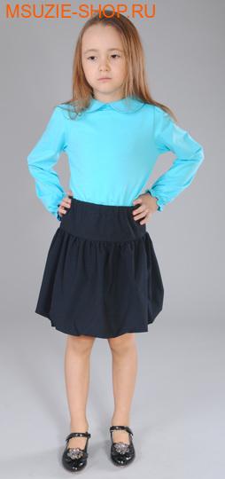 Милашка Сьюзи блузка. 116 голубой ростДжемпера, рубашки, кофты<br><br>