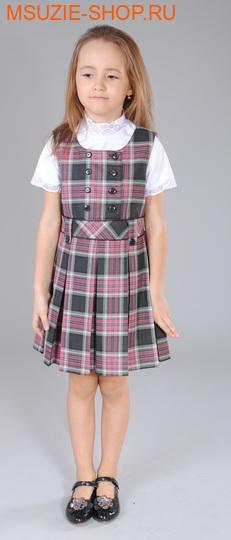 Милашка Сьюзи сарафан. 122 розовый ростСарафаны/платья <br><br>