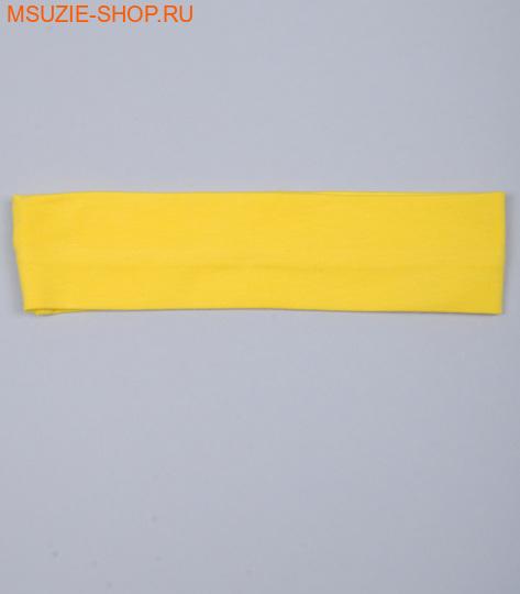 Милашка Сьюзи повязка. 128 желтый ростГоловные уборы,варежки,перчатки <br><br>