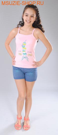 Милашка Сьюзи майка+шорты. 122 св.розовый ростКомплекты<br><br>