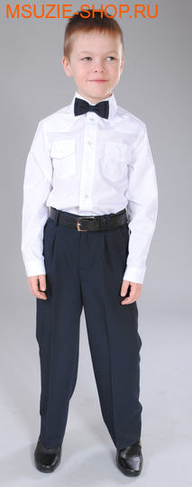 Флер де Ви брюки. 122 т.синий ростШкольная форма<br><br>