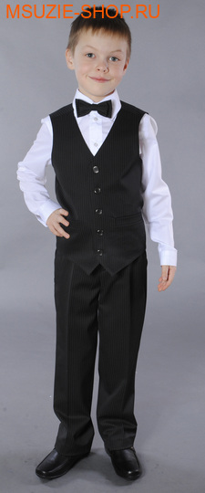 Милашка Сьюзи брюки. 122 черная полоска ростШкольная форма<br><br>