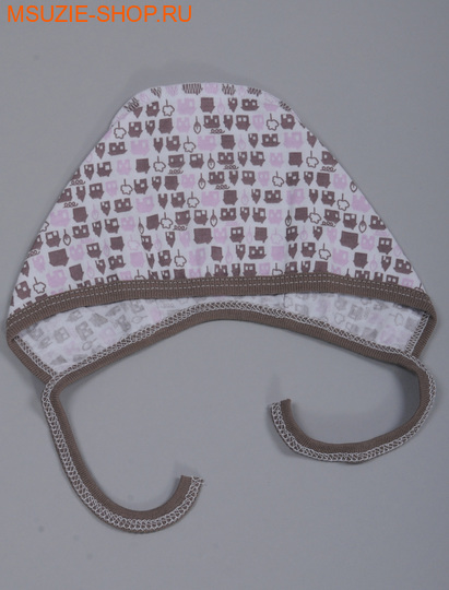 Милашка Сьюзи чепчик. 56 беж+роз ростчепчики,пеленки,рукавички<br><br>