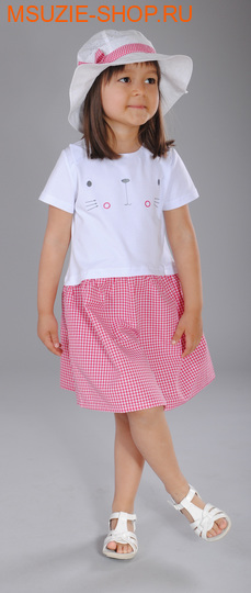 Милашка Сьюзи панама. 104 белый+красный ростГоловные уборы,варежки,перчатки <br><br>