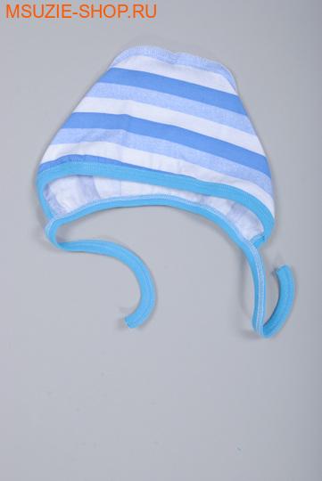 Милашка Сьюзи чепчик. 56 голубой (полоска) ростчепчики,пеленки,рукавички<br><br>