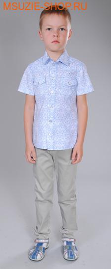 Милашка Сьюзи сорочка. 122 голубой ростДжемпера, рубашки, кофты<br><br>