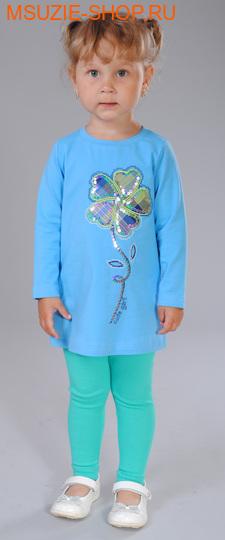 Милашка Сьюзи лосины. 104 зеленый ростБрюки, юбки  <br><br>