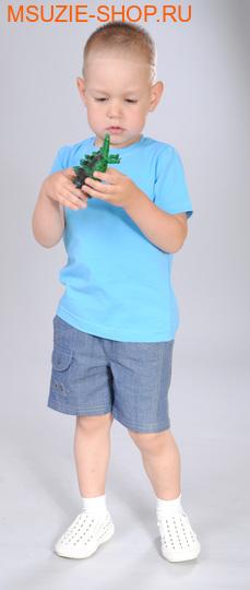 Милашка Сьюзи футболка. 104 голубой ростДжемпера, рубашки, кофты<br><br>