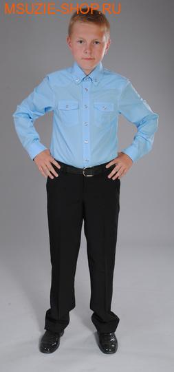Милашка Сьюзи рубашка. 146 св.голубой ростШкольная форма<br><br>