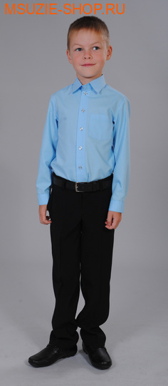 Милашка Сьюзи сорочка. 122 голубой ростШкольная форма<br><br>
