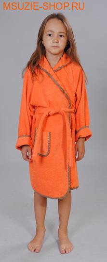 Милашка Сьюзи халат. 104 оранж+горчичный ростОдежда для дома<br><br>