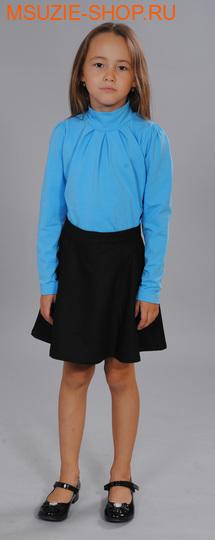 Милашка Сьюзи блузка. 128 синеголубой рост