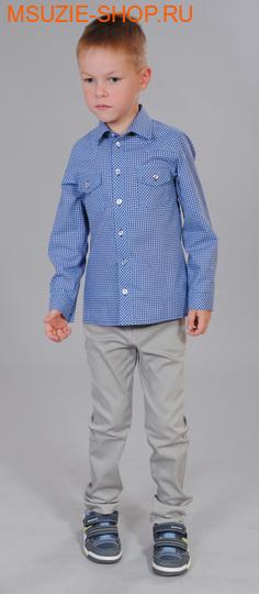 Милашка Сьюзи рубашка. 104 голубой ростДжемпера, рубашки, кофты<br><br>