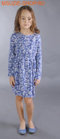 Флер де Ви платье. 104 индиго ростосень-зима<br><br>
