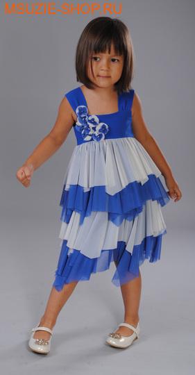 Флер де Ви платье. 110 василек ростосень-зима<br><br>