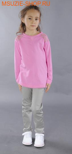 Флер де Ви туника. 104 розовый ростосень-зима<br>кулирка пенье  хлопок.эластан отделка - итальянское кружево<br>