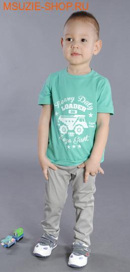 Флер де Ви футболка. 92 зеленый ростДжемпера, рубашки, кофты<br><br>