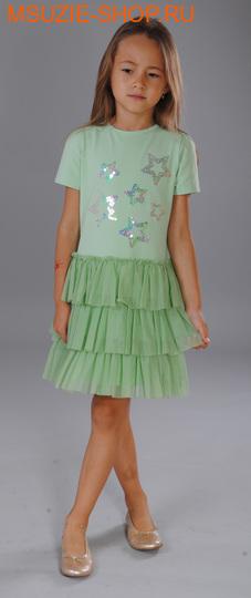 Флер де Ви платье. 104 св.салат ростосень-зима<br><br>