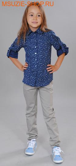 Милашка Сьюзи блузка. 104 тем.синий ростДжемпера, рубашки, кофты<br><br>