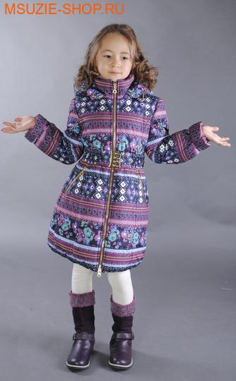 Флер де Ви пальто (зима). 104 баклажан ростосень-зима<br><br>