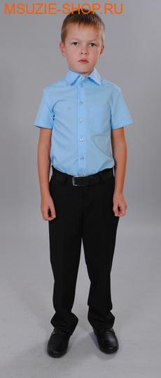 Милашка Сьюзи рубашка. 122 св.голубой ростШкольная форма<br><br>