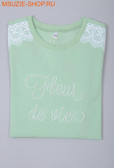 Флер де Ви блузка. 146 св.салат ростДжемпера, рубашки, кофты<br><br>