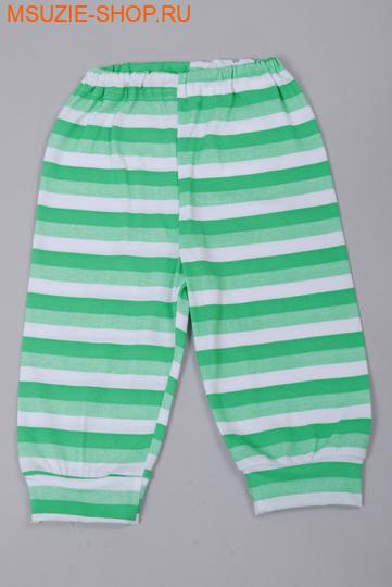 Милашка Сьюзи брючки. 74 зеленый (полоска) ростлегкие ползунки,брючки<br><br>