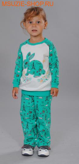 Милашка Сьюзи костюм. 104 зеленый ростКомплекты<br><br>