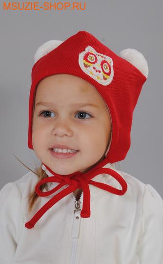Милашка Сьюзи шапка. 74 красный ростГоловные уборы,варежки,перчатки <br><br>