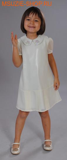 Милашка Сьюзи платье. 110 молочный ростНарядные платья <br><br>