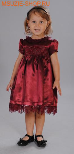 Милашка Сьюзи платье. 104 бордо ростнарядная одежда<br><br>