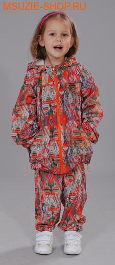 Милашка Сьюзи брюки ветрозащитные. 104 ярк.красный ростВесна-лето<br><br>