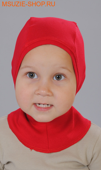 Милашка Сьюзи шапка-поддева. 104 красный ростГоловные уборы,варежки,перчатки <br><br>