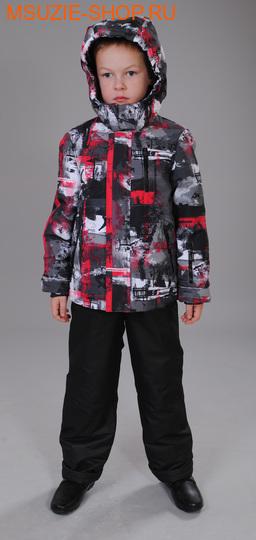 Милашка Сьюзи лыжный костюм (зима). 122 красный ростЗима <br><br>