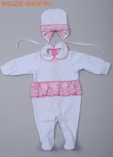 Милашка Сьюзи комплект. 56 розовый росткомплекты для выписки,крестильные наборы<br><br>